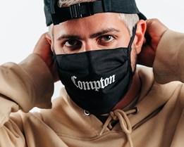 2-Pack Compton Black Face Mask - Headzone