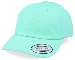 Peached Cotton Twill Diamond Blue Dad Cap - Yupoong