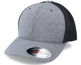 Trucker Mesh Dark Heather Grey/Black Flexfit - Flexfit