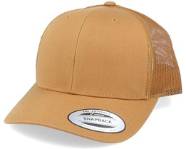 6-Panel Retro Caramel Trucker - Yupoong
