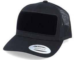 Velvet Patch Black Trucker - Hatstore