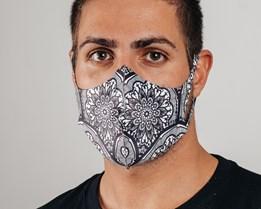 1-Pack Mandala Face Mask - Voz