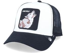 Hatstore x Exclusive Wolf White/Black Trucker - Goorin Bros.