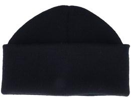 Black Short Beanie - Beanie Basic
