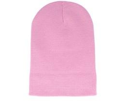 Dusky Pink Long Beanie - Beanie Basic