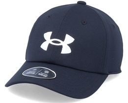 Kids Blitzing Hat Black Adjustable - Under Armour