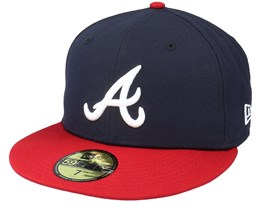 Atlanta BravesAuthentic On-Field59Fifty Navy/Red Fitted - New Era