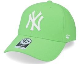 New York Yankees Mvp Lime Adjustable - 47 Brand