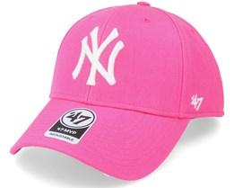 New York Yankees Mvp Magenta Adjustable - 47 Brand