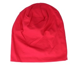 Classic Red Hemsedal Cotton Slouch Beanie - Beechfield