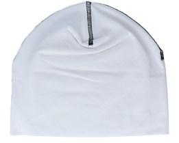 White/Black Hemsedal Cotton Beanie - Beechfield
