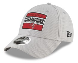 Pre-Order - Delivery in March - Tampa Bay Buccaneers 9Forty Stretch Snap Super Bowl LV Parade Grey Adjustable - New Era