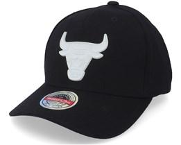 Chicago Bulls Casper Black Adjustable - Mitchell & Ness