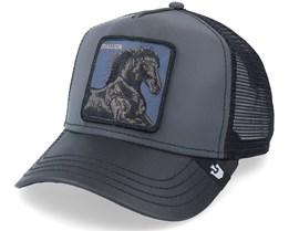 Ride That Stallion Reflective Black Trucker - Goorin Bros.