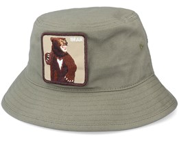 Fighting Bear Olive Bucket - Goorin Bros.