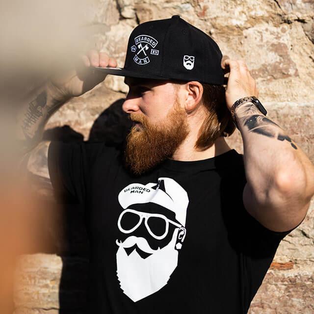 Bearded Man Apparel -for beard enthusiasts