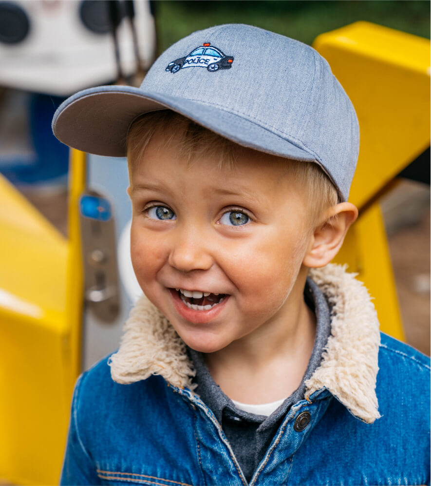 Cap season is here - Discover our kids collection