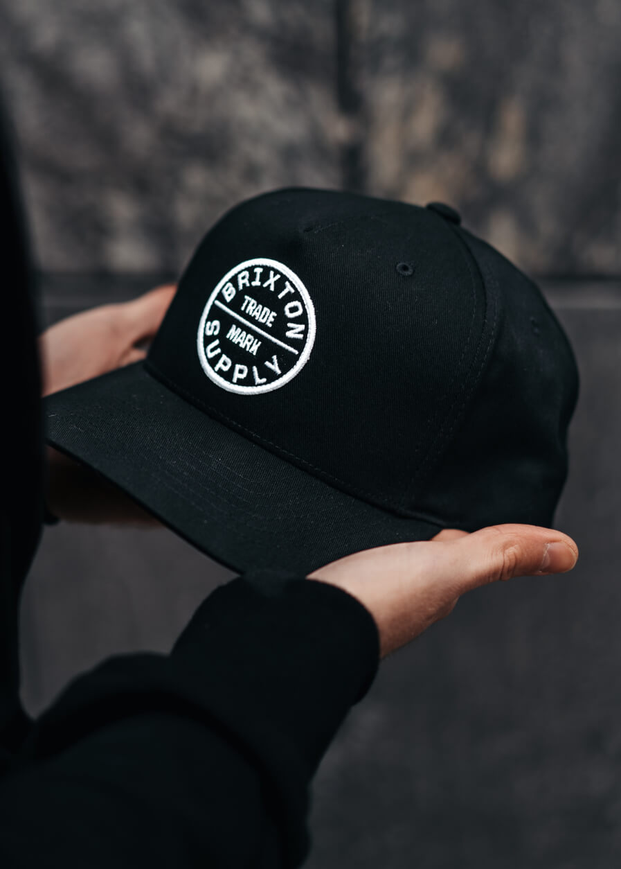 Hatstore Exclusive x Brixton Oath Curved & High Crown