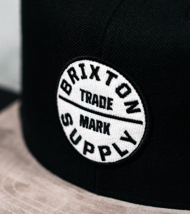 Hatstore Exclusive x Brixton Oath III Suede