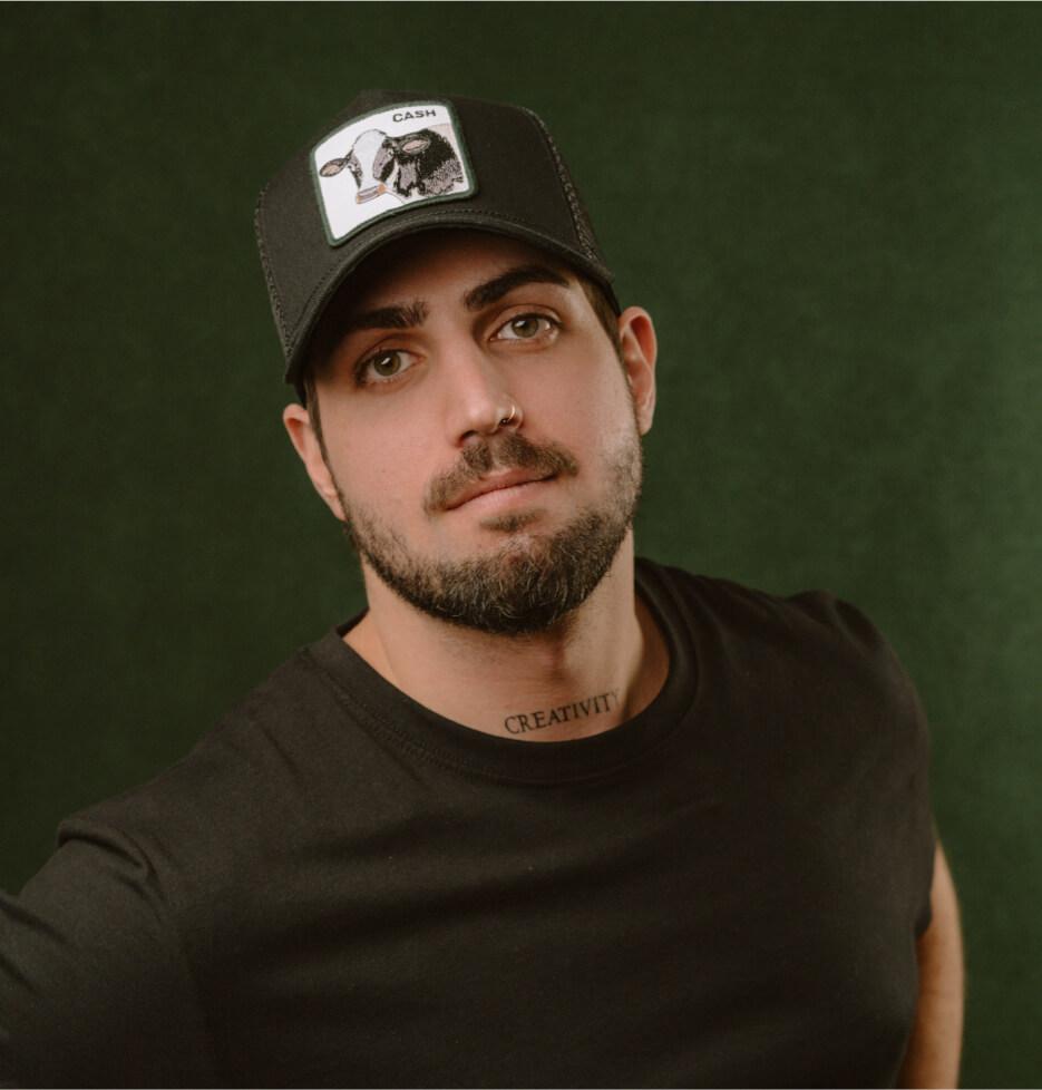 Hatstore Exclusive x Cash Cow Black Trucker - Goorin Bros.