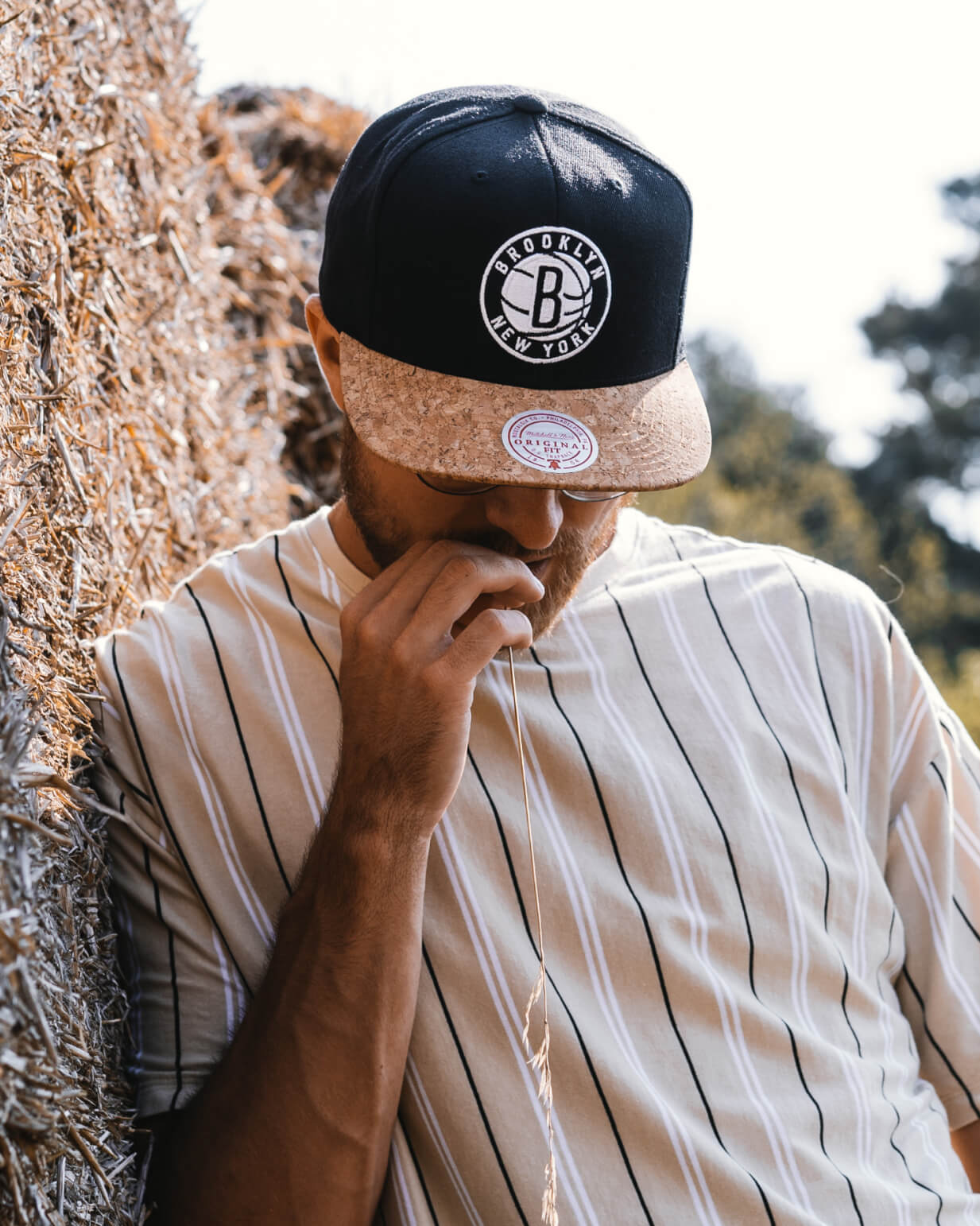 Hatstore Exclusive x Mitchell & Ness Brooklyn Nets Cork