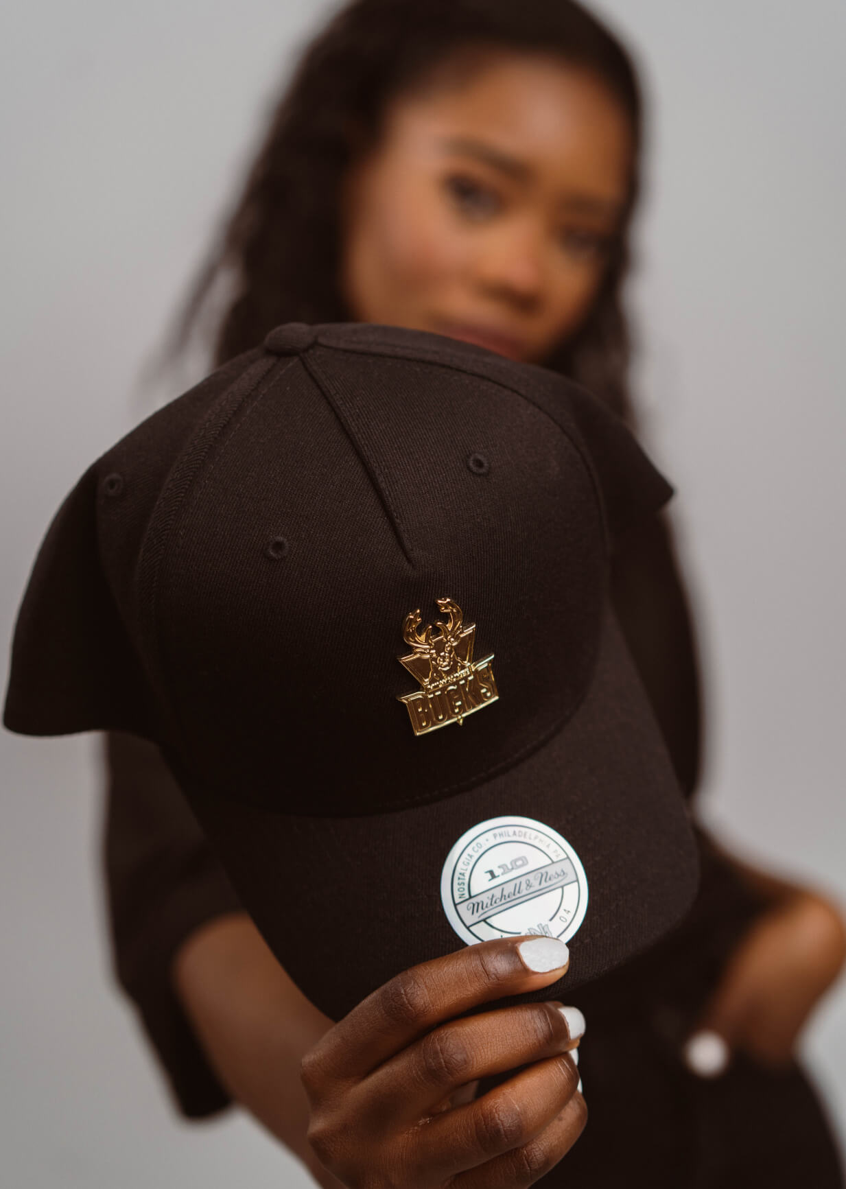 Hatstore Exclusive x Mitchell & Ness Gold Medal