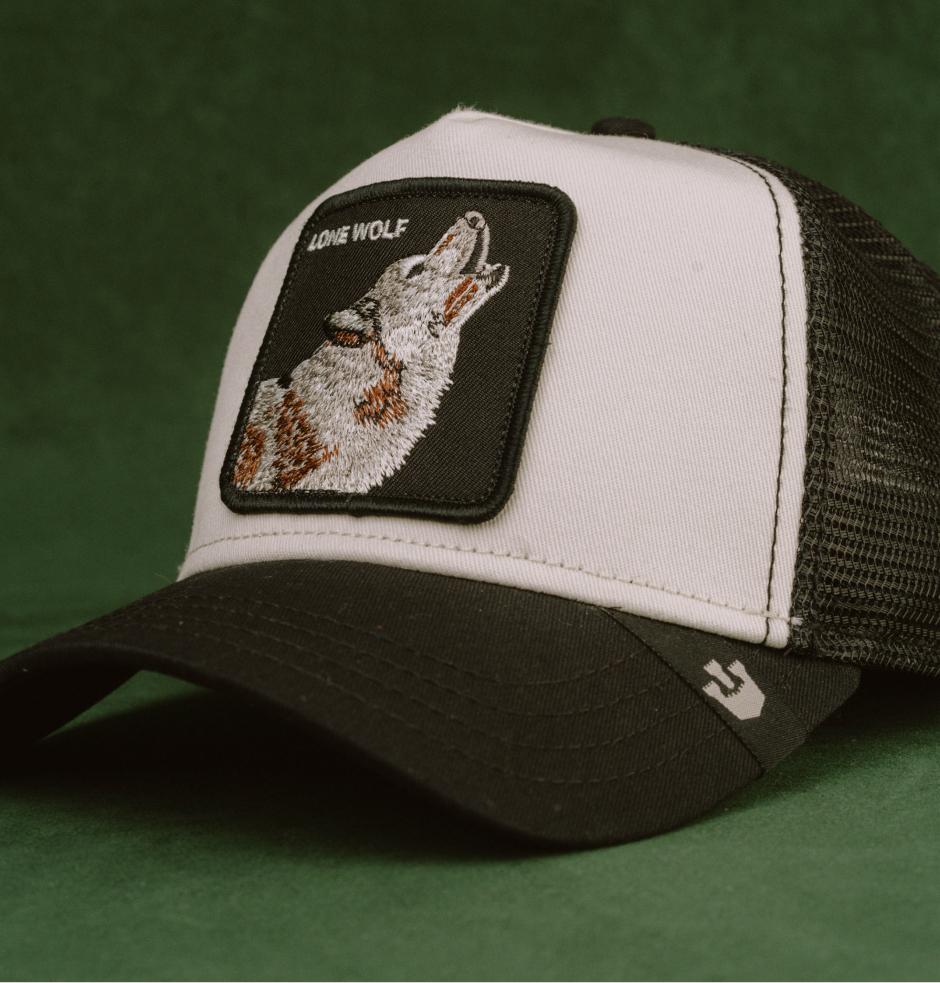 Hatstore Exclusive x Wolf White/Black Trucker - Goorin Bros.