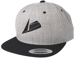 Black Logo Grey/black Snapback - Sneakers