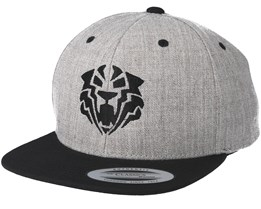Kids Tiger Black Grey/Black Kids Snapback - Kiddo Cap