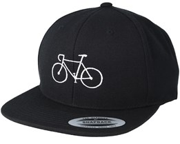 Classic Bike Black/White Snapback - Bike Souls