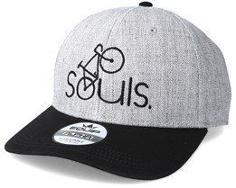 Souls Heather Grey/Black Adjustable - Bike Souls