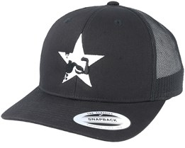 Star Muscle Black Trucker - Berzerk