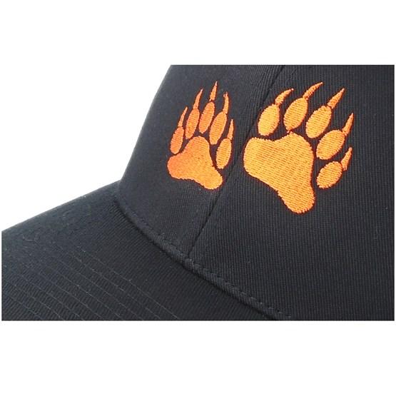 25a8ee8e1e4 Bear Prints Black Flexfit - Hunter caps - Hatstoreworld.com