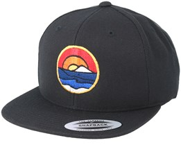 Shades Of Nature Black Snapback - Wild Spirit