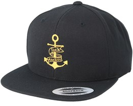 Anchor Black/Gold Snapback - Jack Anchor