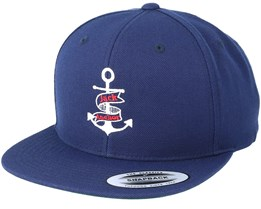 Anchor Navy/White Snapback - Jack Anchor