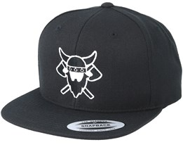 Battle Time Black Snapback - Vikings