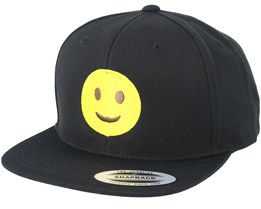 Emoji Happy Black Snapback - Iconic