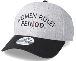 Women Rule Grey/Black Adjustable - Period