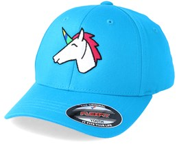 Kids Unicorn Aqua Flexfit - Unicorns