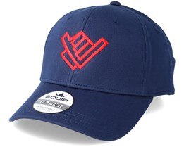 Shaka Hand Navy/Red Adjustable - Xaka