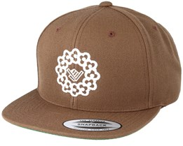 Necklace Light Brown Snapback - Xaka