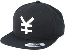 Yen Black/White Snapback - Yapan