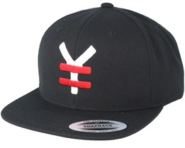 Yen Red/White/Black Snapback - Yapan