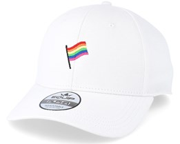 Flag White Adjustable - Pride