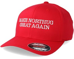 "Make Northug Great Again ""Kläbo""  Red Flexfit - Iconic"