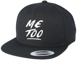 MeToo Black Snapback - Pride