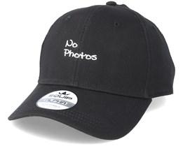 No Photos Black Adjustable - Iconic