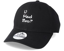 U Mad Bro? Black Adjustable - Iconic