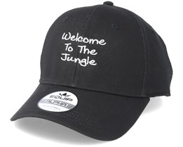 Welcome To The Jungle Black Adjustable - Iconic